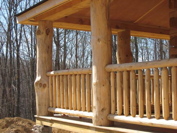 Virginia Appalachian Log Homes, Handcrafted Heavy Timber ...