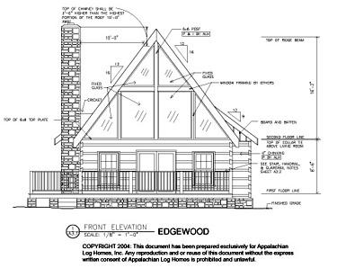 Appalachian Log Homes Study Plans