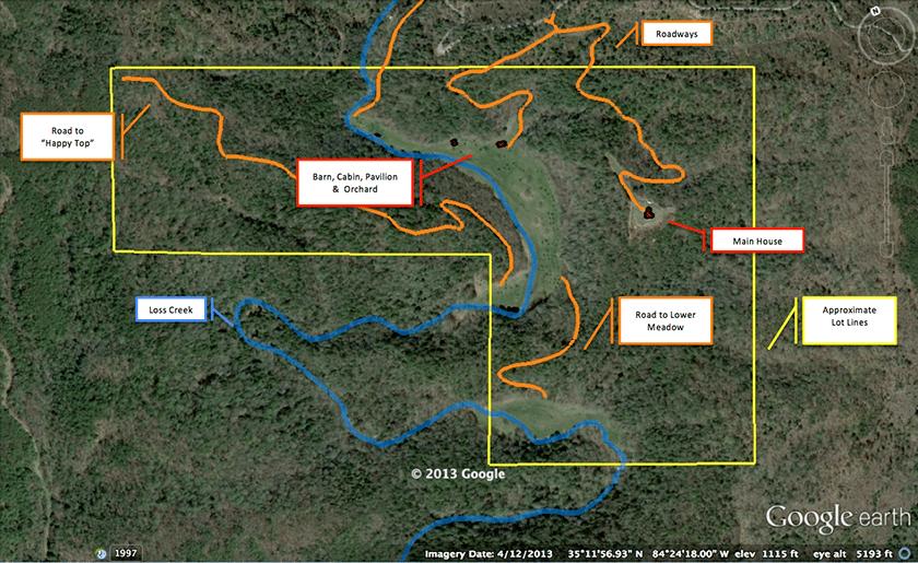 Loss-Creek-Cove-Map