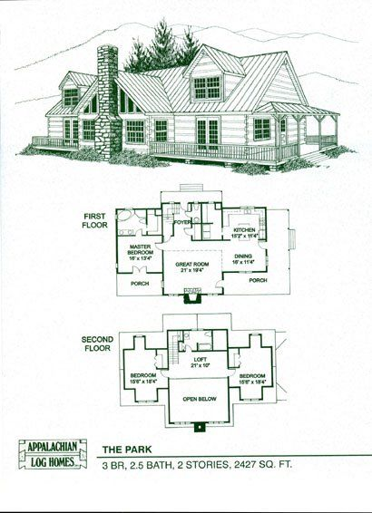 Park Appalachian Log Timber Homes Rustic Design For