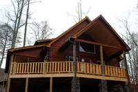 [43] Log Siding and Dovetail Corners, Lake City , TN