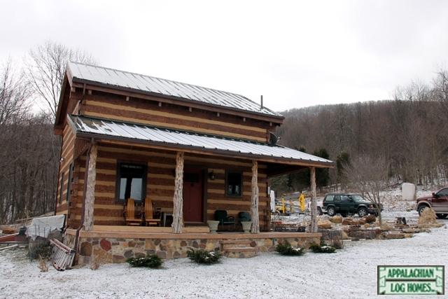 Yukon Trail I Appalachian Log Timber Homes Rustic