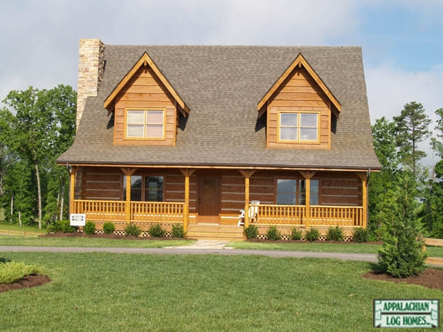 Cimarron appalachian log timber homes rustic design for Log home plans tennessee